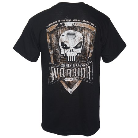 Chris Kyle Frog Foundation Men's Warrior To The End T-Shirt