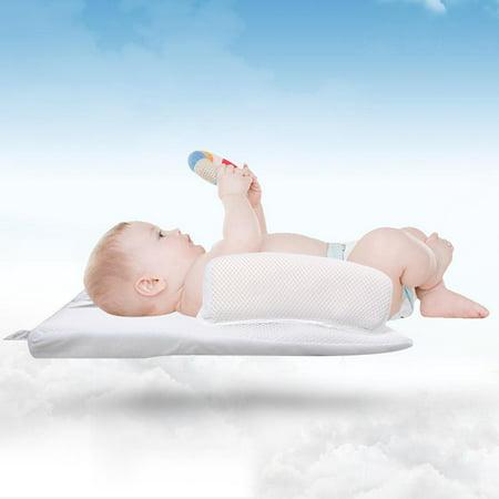 Baby Infant Newborn Sleep Positioner Anti Roll Pillow