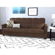 Mainstays Tyler Futon With Storage Sofa Sleeper Bed