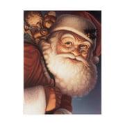 Trademark Fine Art 'Santa Traditional' Canvas Art by Dan Craig