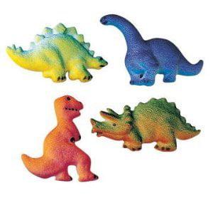 Dinosaur Edible Sugar Cupcake & Cake Decoration Topper-Pack of 16