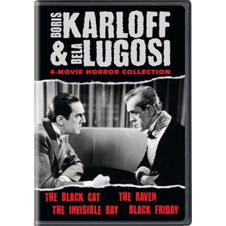 Boris Karloff & Bela Lugosi Horror 4-Movie Horror Collection (DVD) - Bela Lugosi Dracula