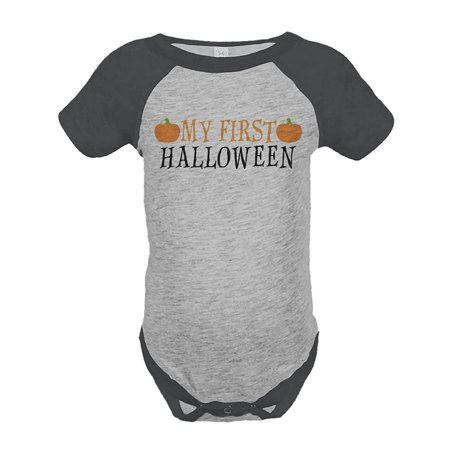 Custom Party Shop Baby's First Halloween Onepiece - 12 Month (Baby's First Halloween Party Ideas)