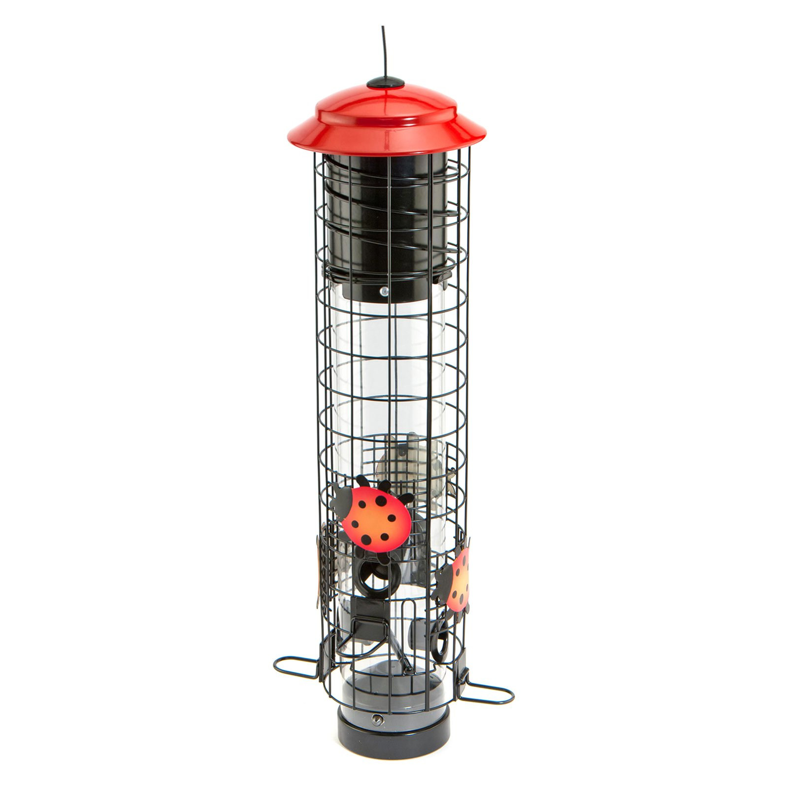 Ladybug Squirrel Resistant Tube Feeder
