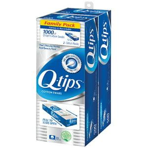 Q-tips Cotton Swabs 1000 ct