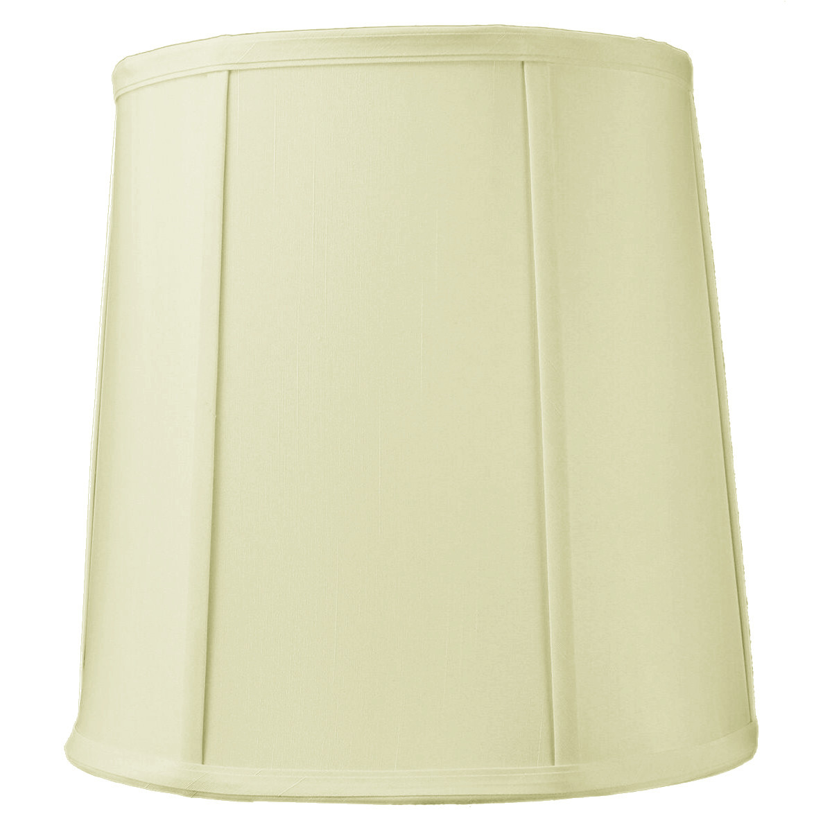 10x12x12 Egg Shell Shantung Drum Lampshade by Home Concept Inc