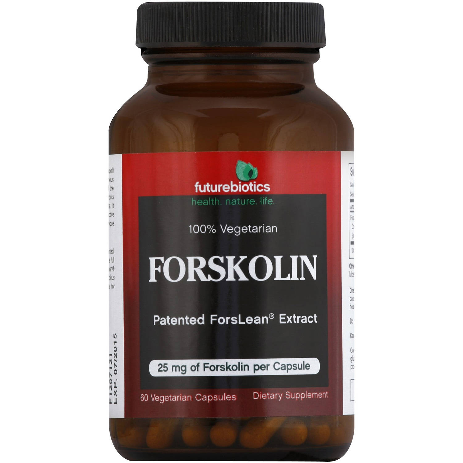 Futurebiotics Forskolin Vegetarian Capsules, 60 CT