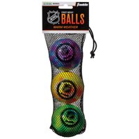 Franklin Sports NHL Warm Weather Street Hockey Balls