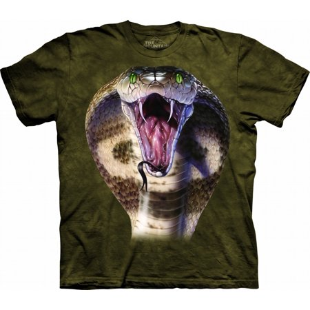 Cobra Graphic (Kids 100% Cotton Cobra Graphic Animal Novelty T-Shirt NEW )