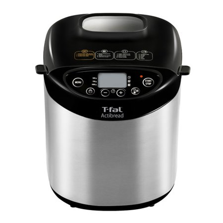 T-fal ActiBread Programmable Stainless Steel Bread Machine