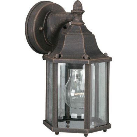 Mountain Outdoor Sconce - Forte Lighting 1742-01 Outdoor Wall Sconce from the Exterior Lighting Collection