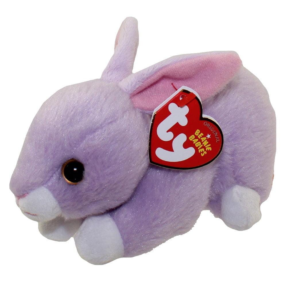 TY Beanie Baby - LILAC the Purple Bunny (6 inch)