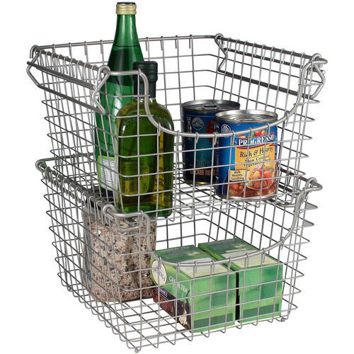 Spectrum Diversified Designs Scoop Medium Stacking Basket, Multiple Colors by Spectrum Diversified Designs