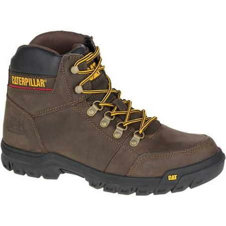 CAT Footwear Outline - Seal Brown 9.0(W) Outline Mens Work Boot