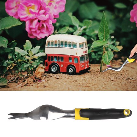 EEEKit Hand Weeder Tool Garden Weeder & Manual Weed Puller with Large Ergonomic Handle, Garden Lawn Farmland Transplant Gardening Bonsai Tools, Best for Lawn and Garden
