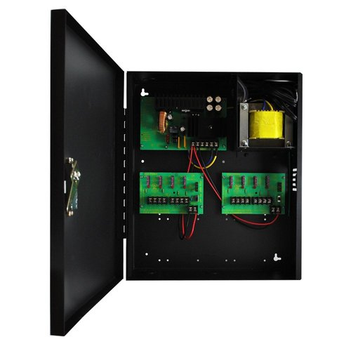 Revo America REP3DC12-8-10 The P3DC12-8-10 distribution with 8 individually fused outputs