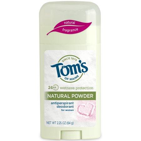Tom's of Maine Antiperspirant Deodorant, Natural Powder, 2.25 oz (Main Mall)