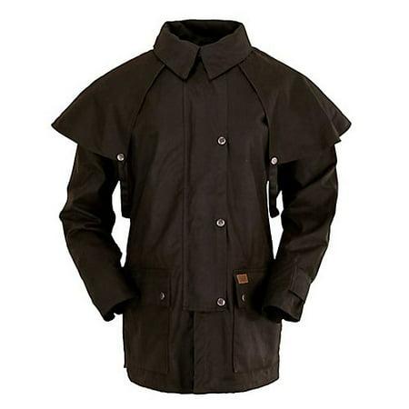 Outback Trading Bush Ranger Jacket Large Brown ()