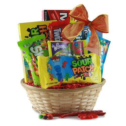 Candy Kisses Gift Basket
