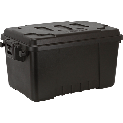 Plano #161900 Storage Trunk, 56 Qt., Black