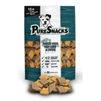 PureSnacks Freeze Dried Beef & Cheese Dog Treats, 4.8 Oz.