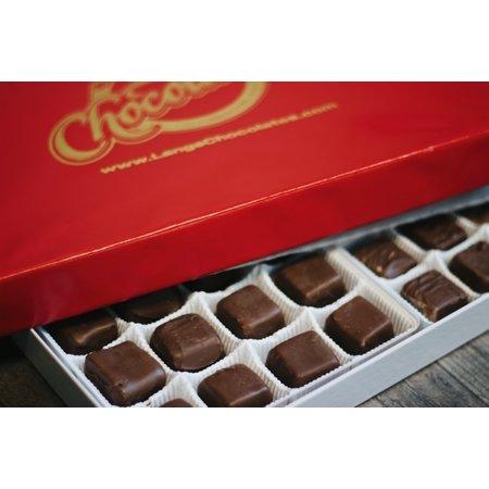 Boxed Truffle - Lang's Chocolates Milk Chocolate Truffles 24 Piece Box