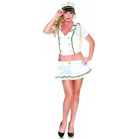 Womens US  US Sailor Navy Nautical Playboy Costume (Womans Sailor Costume)