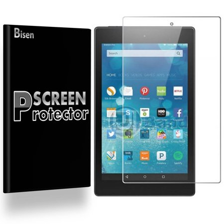 Amazon Kindle Fire HD 7 (4th Gen, 2014 Release) [3-PACK BISEN] Screen Protector, HD Clear, Anti-Scratch, Anti-Shock, Anti-Bubble ()
