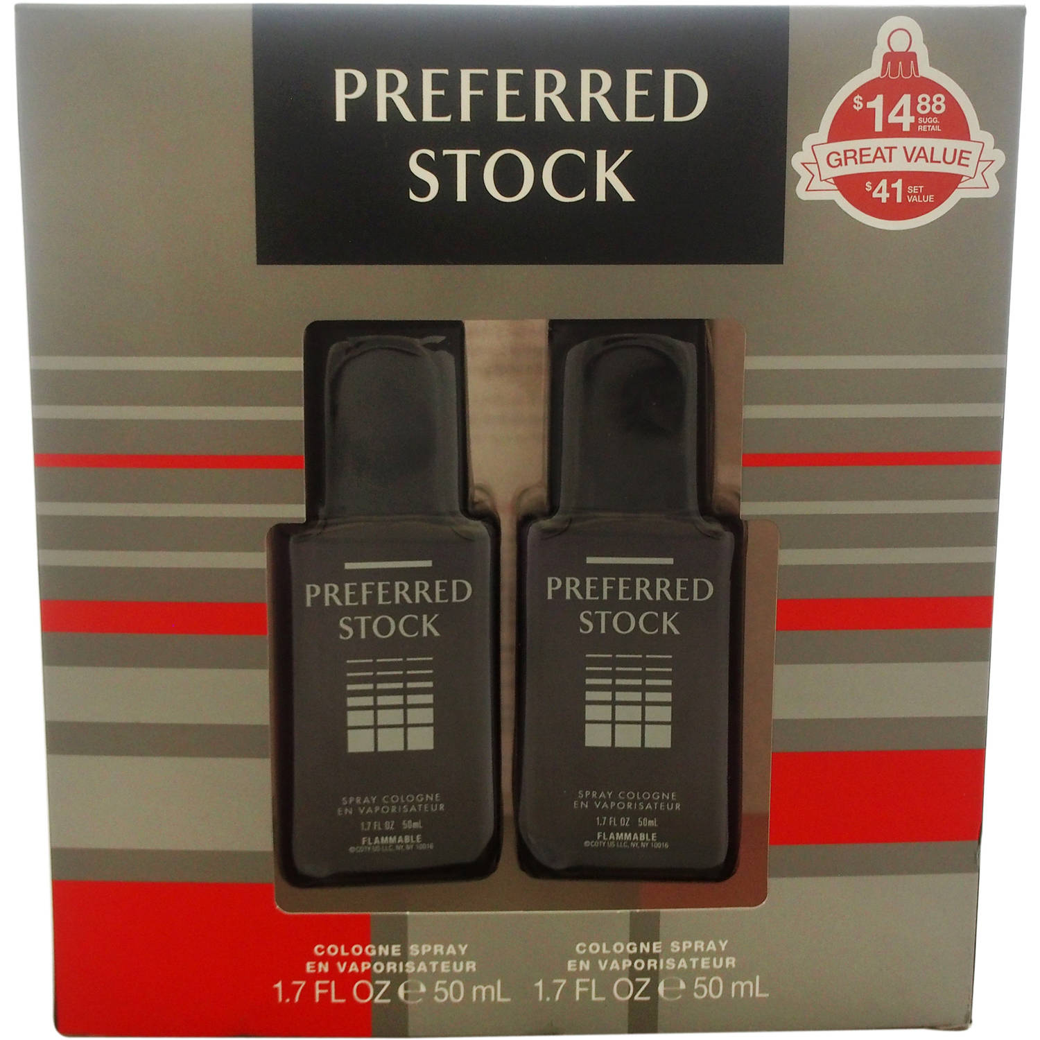 Coty Preferred Stock for Men Fragrance Gift Set, 2 pc