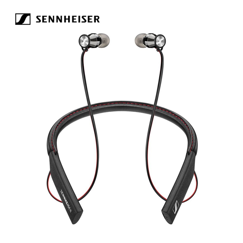 Sennheiser Momentum In-Ear 4.1 Wireless Headphones Sports Neckband Headset Mobile Earphones with Apt-X AAC NFC Pairing 10 Hours Battery Life Multi-connection