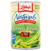 Libby's® Naturals No Salt & No Sugar Added Cut Green Beans 14.5 oz. Can
