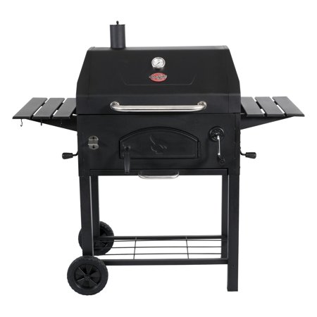 Char-Griller Traditional Charcoal Grill, Black, E2197