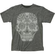 Impact Originals Manufacturer Design Sugar Skull Adult Fitted Jersey T-Shirt Tee