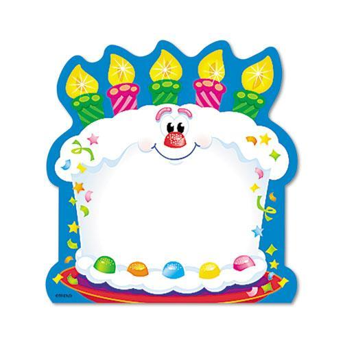 Trend Bright Birthday Shaped Note Pad TEPT72071