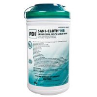 Surface Disinfectant SaniCloth HB Quaternary Based Wipe Manual Pull Canister Ammonia Scent (390/CA)