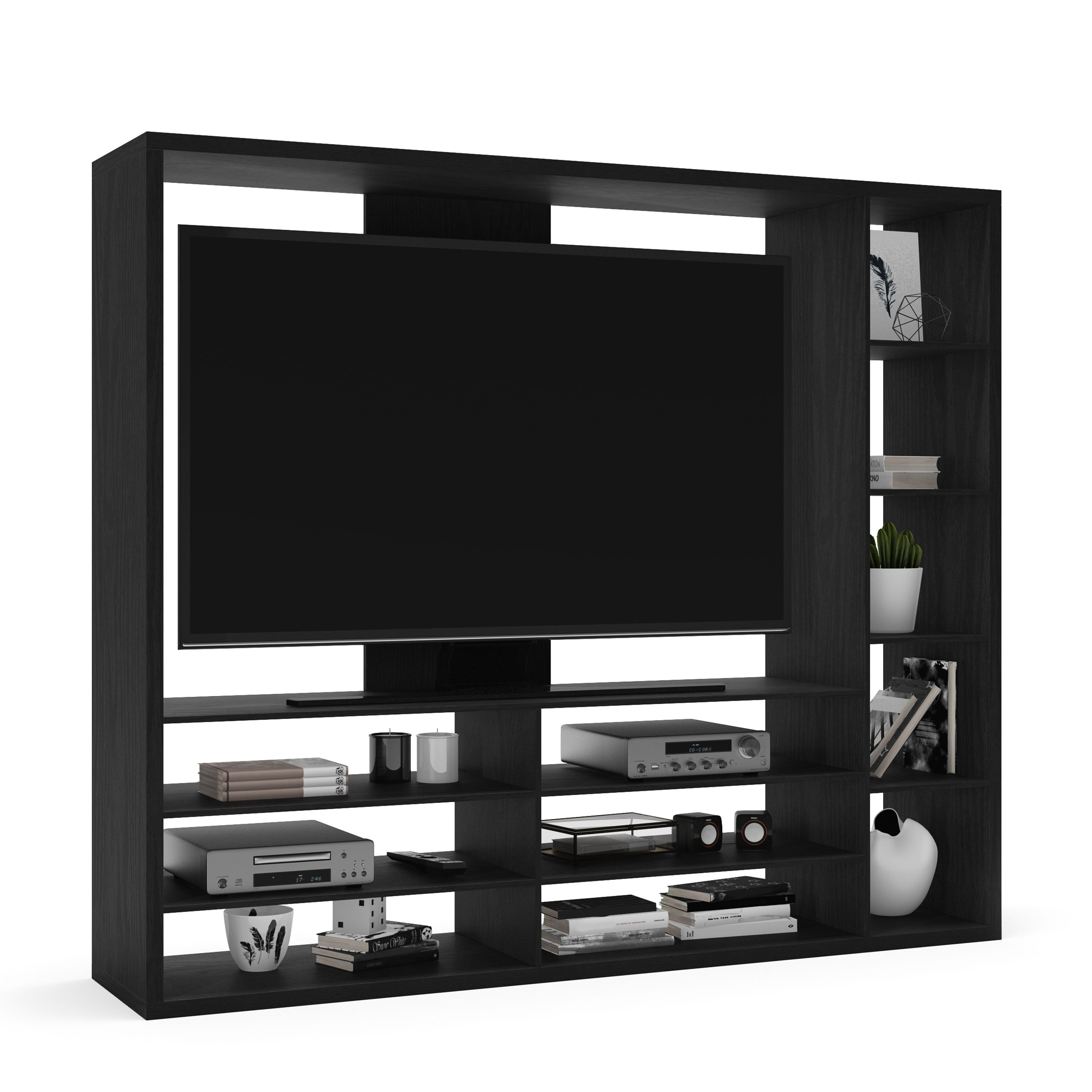 """Mainstays Entertainment Center for TVs up to 55"""", Ideal TV Stand"""