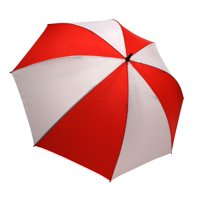 ProActive Sports 62-Inch Ultra-Lite Golf Umbrella (Red/White)