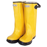 DIAMONDBACK RB001-15-C OVERSHOE BOOT, SIZE 15, YELLOW