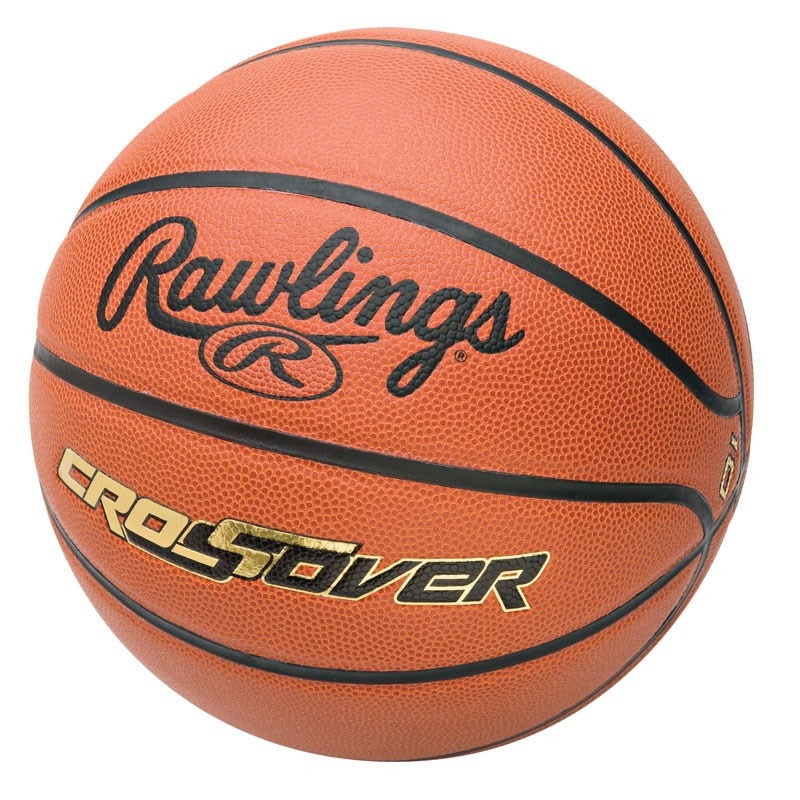 Rawlings Crossover Basketball Crossover 7 - 29.5 in. Composite Leather Cover Indoor/Outdoor
