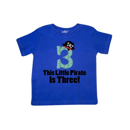 Pirate 3rd Birthday Gift Idea Toddler T-Shirt (Pirate Outfit Ideas)