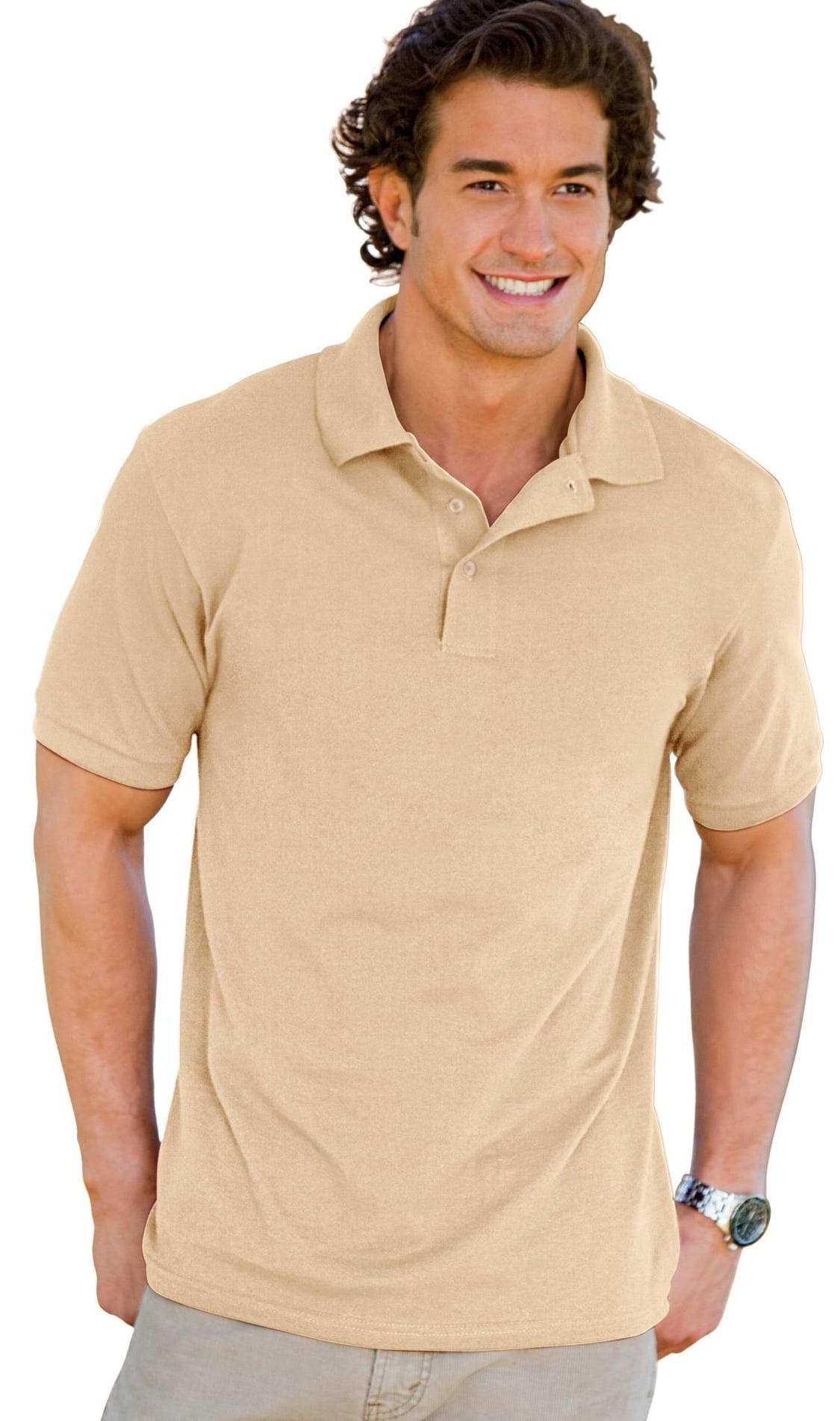7-Ounce Pique Knit Sport Shirt Hanes ComfortSoft 055X