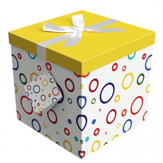Gift Box 12x12x12 Garnier Collection Easy To Assemble Reusable