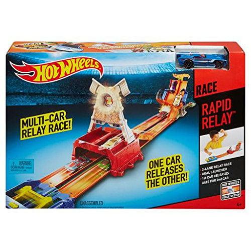 Hot Wheels Rapid Relay Race Track by Mattel
