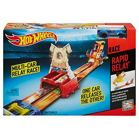 Hot Wheels Rapid Relay Race Track