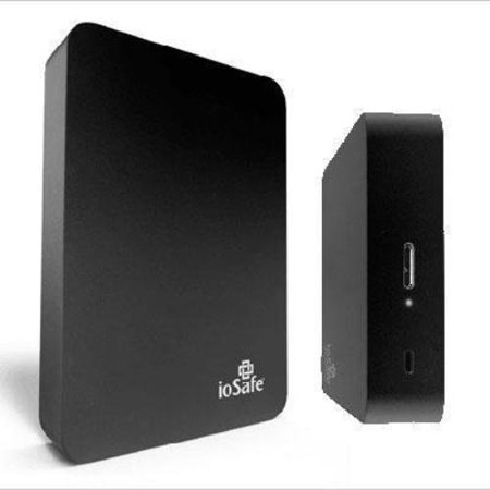 Iosafe Rugged Portable 1 Tb External Solid State Drive Usb 3 0 Black