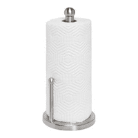 Honey Can Do Paper Towel Holder, Silver