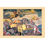 Buy Enlarge 0-587-14489-0P20x30 Elves Operating Minneapolis Moline Construction Machinery- Paper Size P20x30