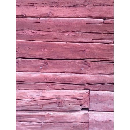 - LAMINATED POSTER Background Wall Wood Boards Pink Architecture Poster Print 24 x 36