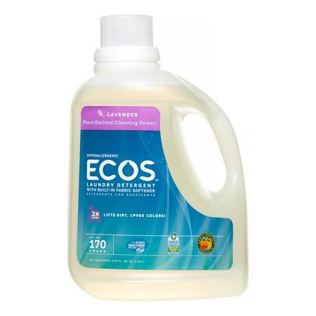 ECOS 2X Ultra Natural Laundry Detergent, Lavender, 170 -