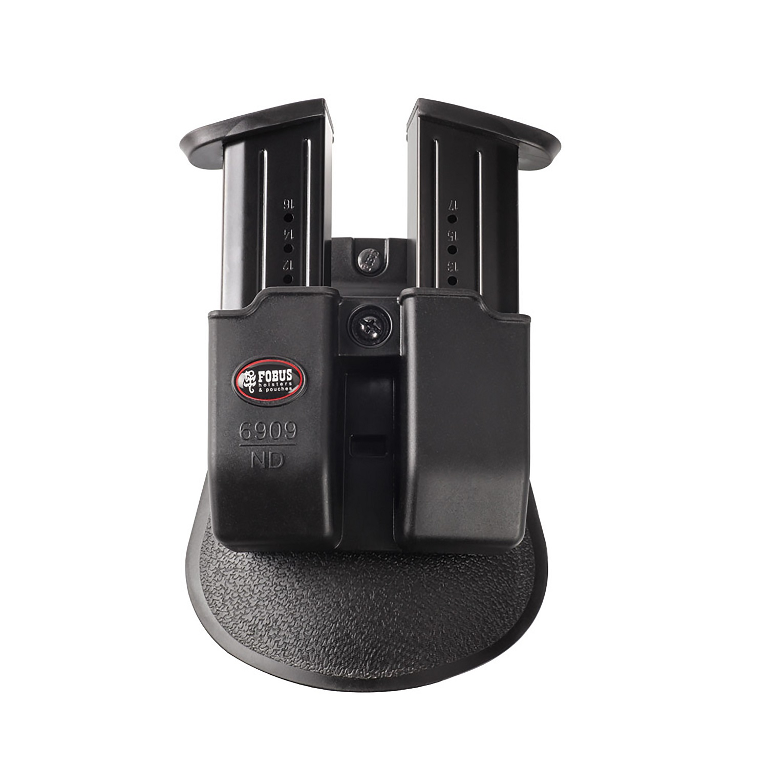 Click here to buy Fobus Double Mag Pouch 9mm 357 40 with Tension Adj Screws SKU: 6909NDP with Elite Tactical Cloth by Fobus.